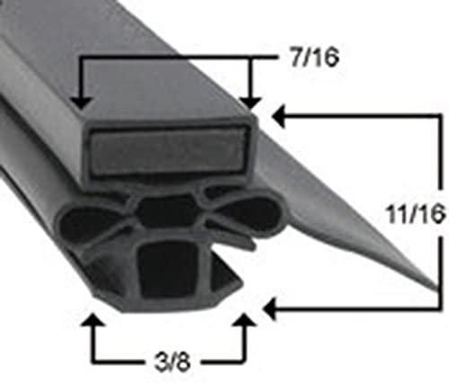 Turbo Air Part# 30223P0100 Magentic Door Gasket