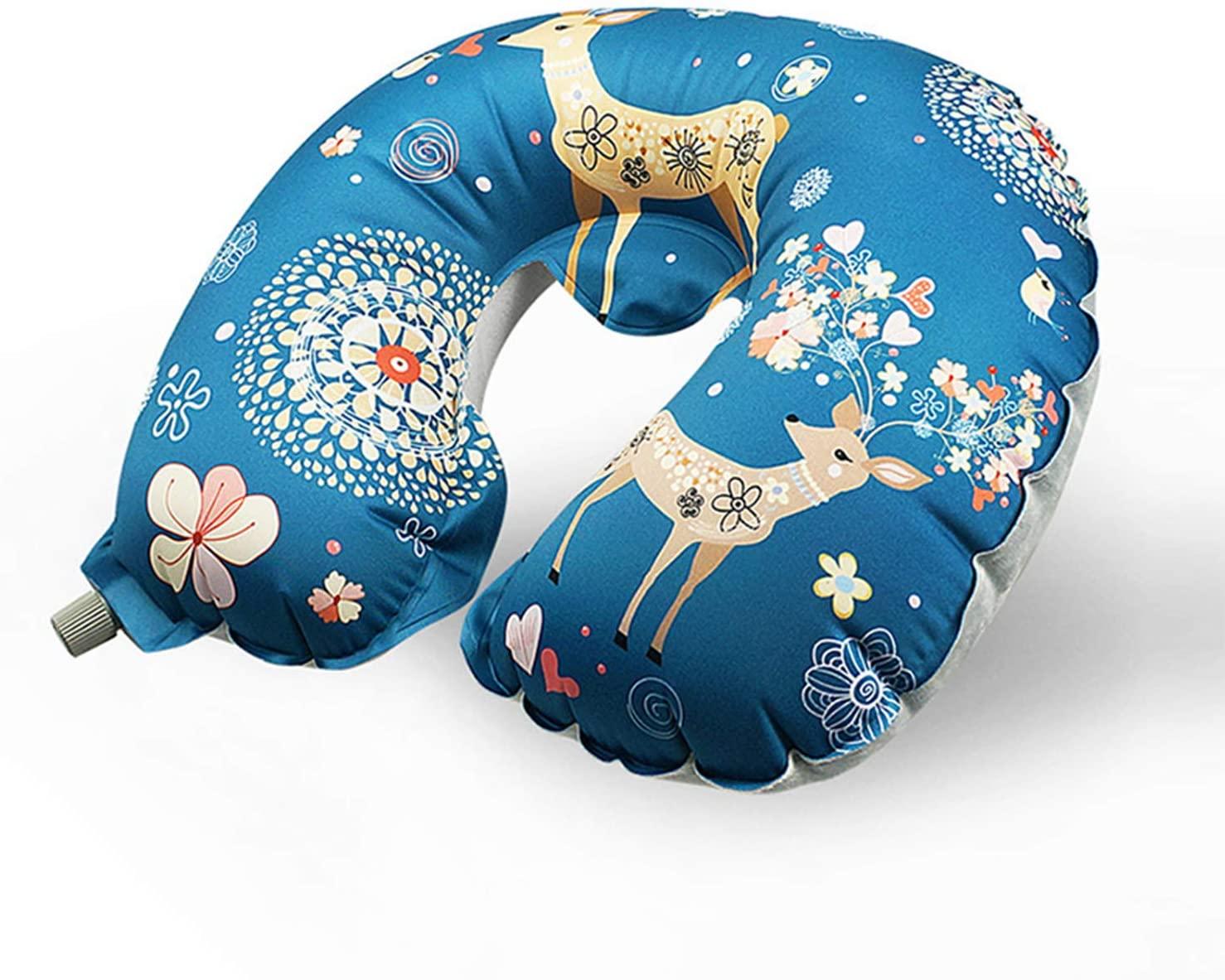 FengNiaoo TPU Inflatable Pillow Multi-Function Travel U-Shaped Pillow U-Type Inflatable Pillow Travel Three Treasures