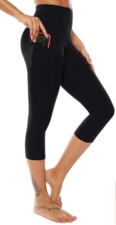 AUU Premium Thick High Waist Tummy Compression Slimming Leggings Yoga Pants