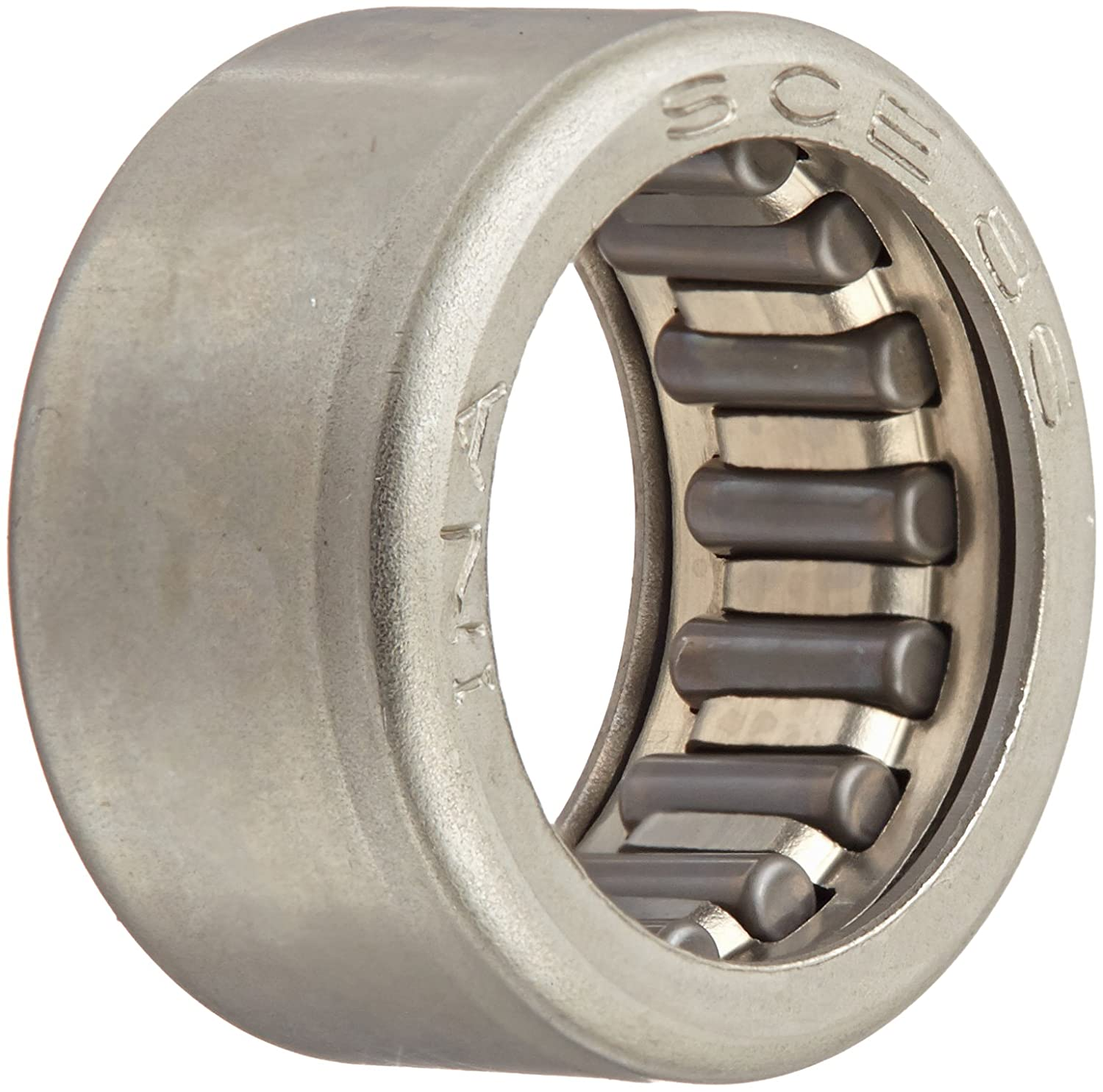 INA SCE86 Needle Roller Bearing, Steel Cage, Open End, Inch, 1/2