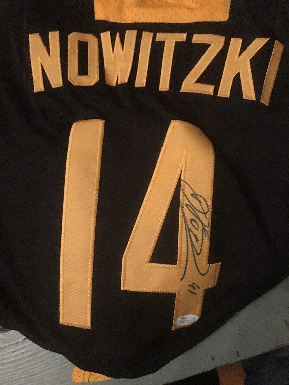Autographed Dirk Nowitzki Jersey - Deutschland Germany - JSA Certified - Autographed NBA Jerseys