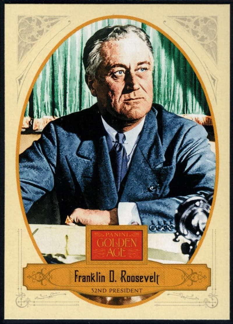 2012 Panini Golden Age #32 Franklin D. Roosevelt NM-MT