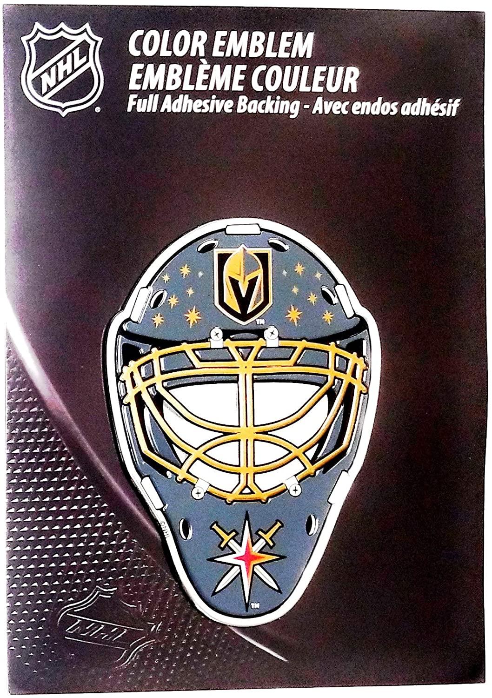 Promark Las Vegas Golden Knights Special Edition MASK CE3 Aluminum Metal Color Chrome Auto Emblem Decal Hockey