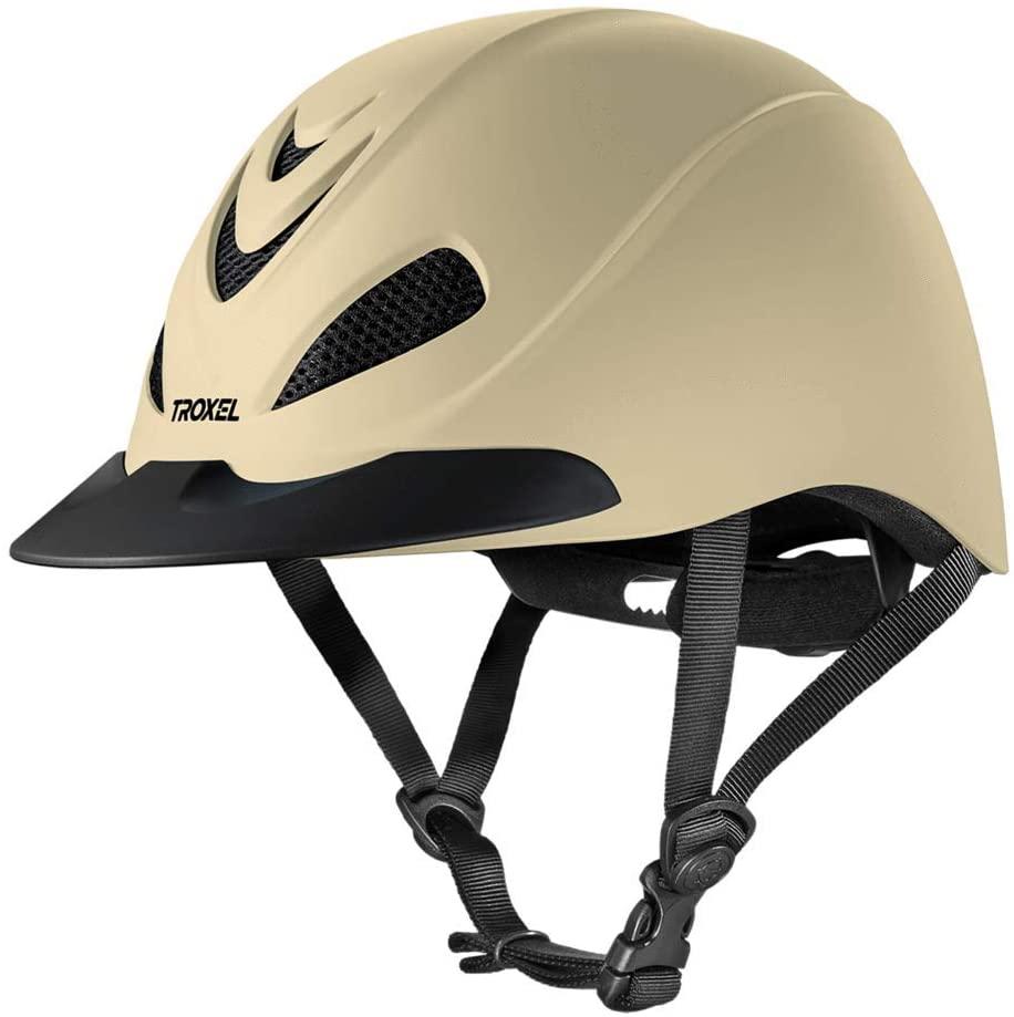 TROXEL Performance Headgear Troxel Liberty Tan Duratec Horse Riding Helmet Tan XL