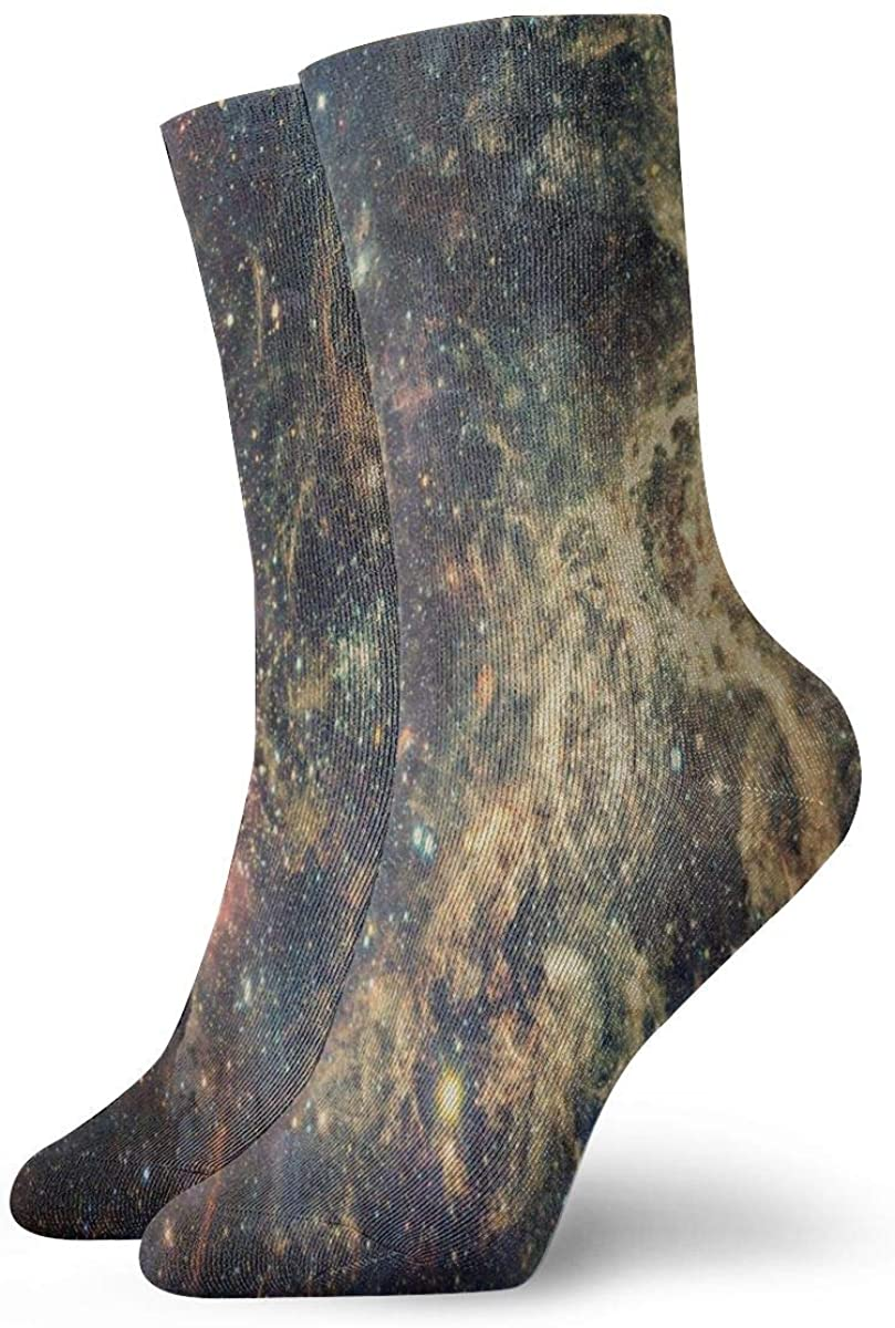 Casual Socks Oil Painting Of Poppy Field Red Flowers Novelty Crew Socks for Women Men Big Boys Girls Unisex