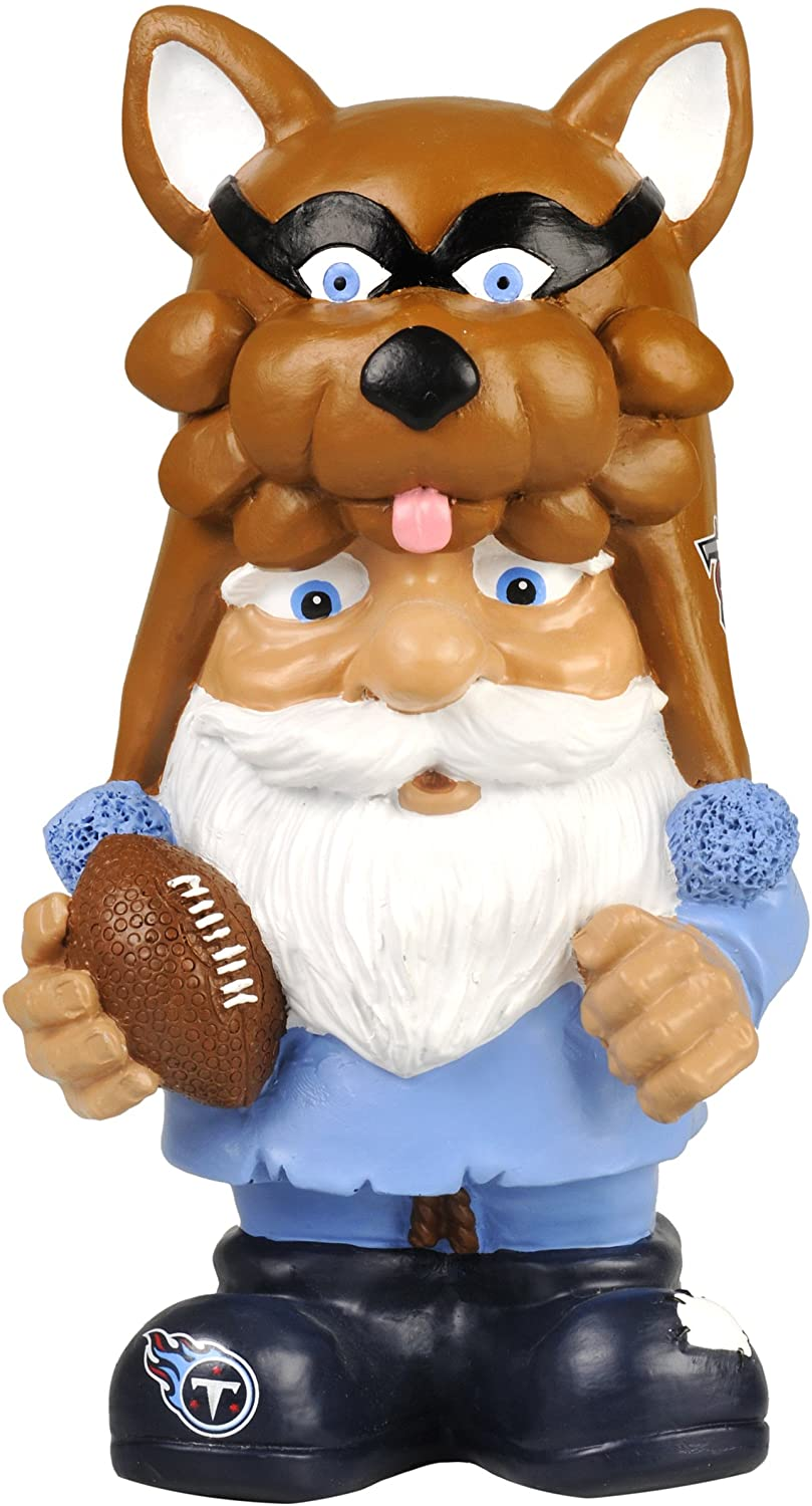 FOCO NFL Unisex Football Mad Hatter Gnome