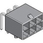 172064-1012, Conn Power HDR 12 POS 5.7mm Solder RA Thru-Hole 12 Terminal 1 Port Mega-Fit Tray (5 Items)