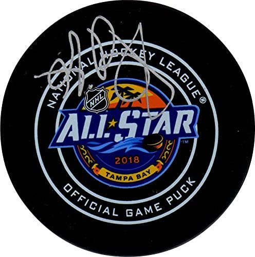 Andrei Vasilevskiy autographed signed Authentic All Star Game Puck Lightning