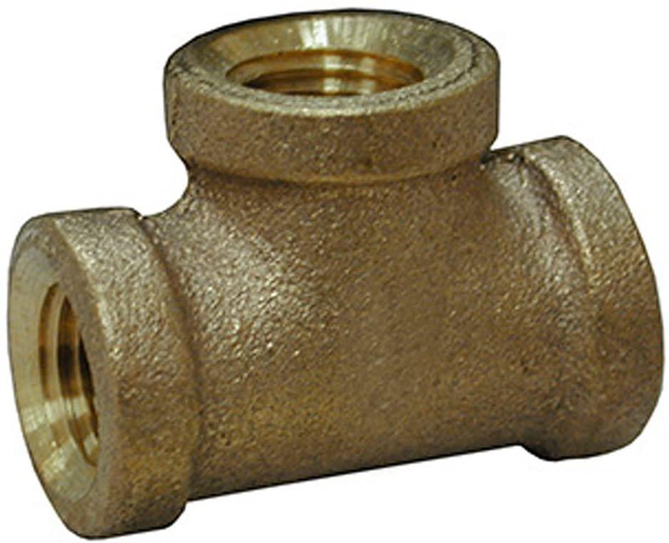 Jones Stephens Corp - 1/8 Bronze Tee - Lead Free