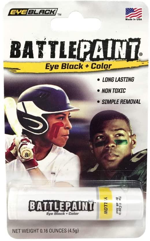 EyeBlack Yellow BattlePaint Eye Black Grease