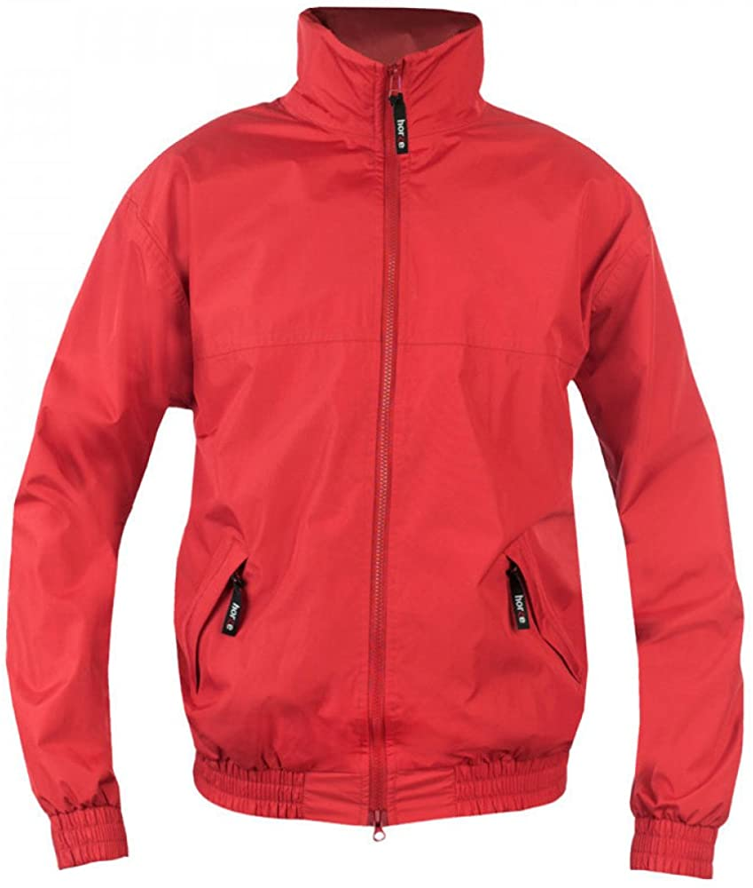 Horze Unisex LW One4All Club Jacket - Size:XSmall Color:Red