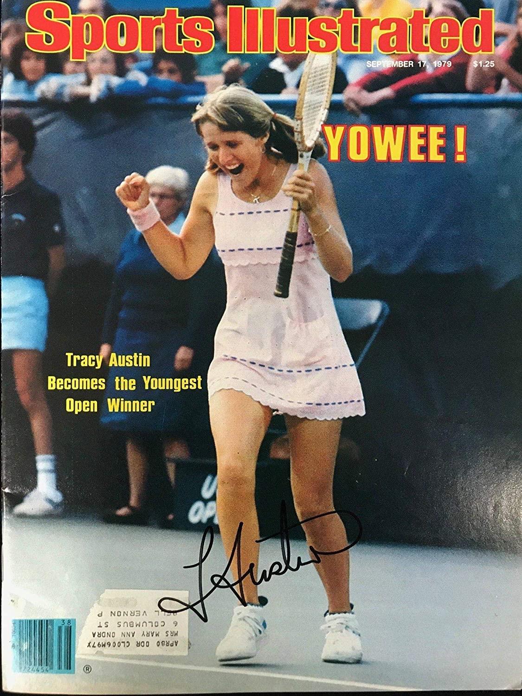 Tracy Austin Signed Sports Illustrated Magazine September 17 1979 - Autographed Tennis Magazines