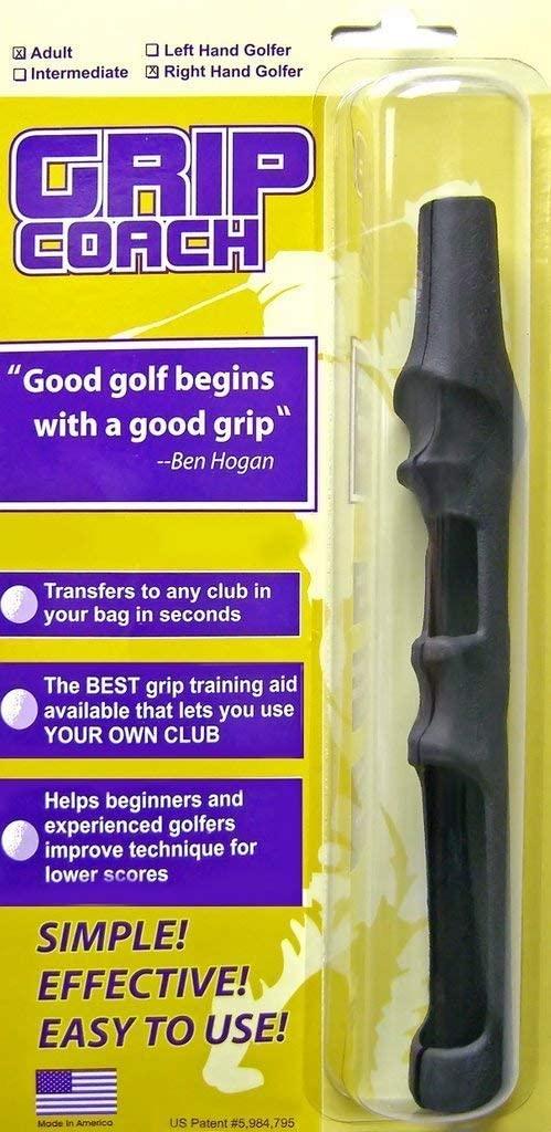 Grip Coach Interchangeable Formed Golf Training Grip
