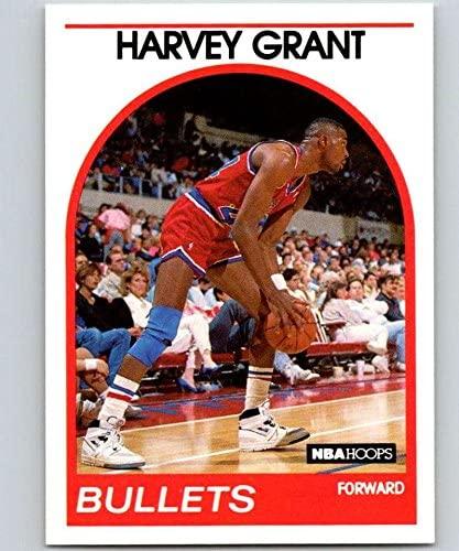 1989-90 Hoops #67 Harvey Grant RC Rookie Bullets NBA Basketball
