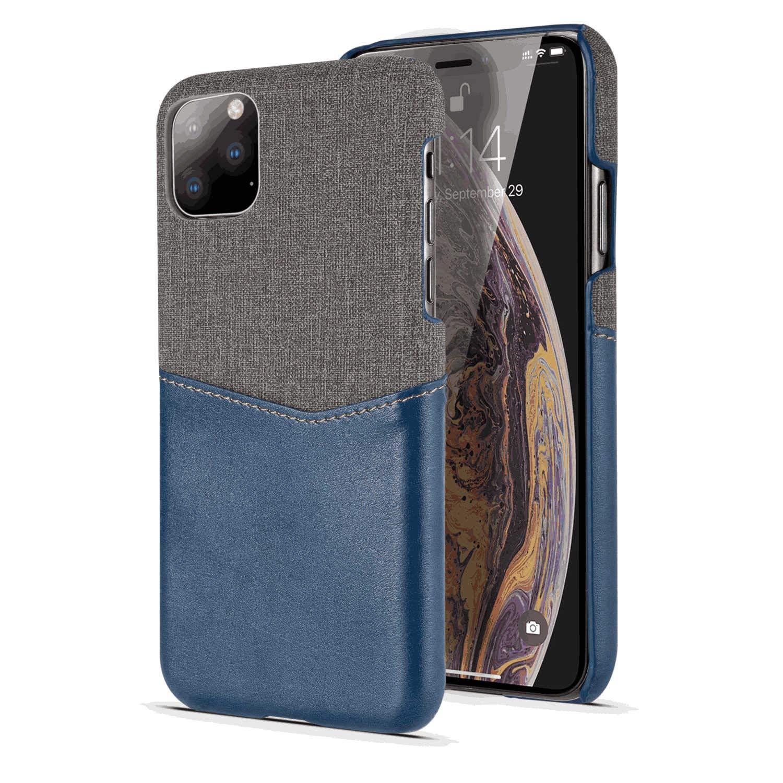 Flip Case for Samsung Galaxy Note 10, Blue PU Leather Cover (Compatible with Samsung Galaxy Note 10)