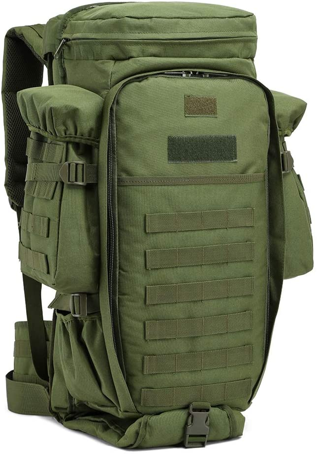 Tactical Backpack Military Outdoor Assault Pack Survival Rucksack Army Molle Bag for Hiking Trekking and Hunting
