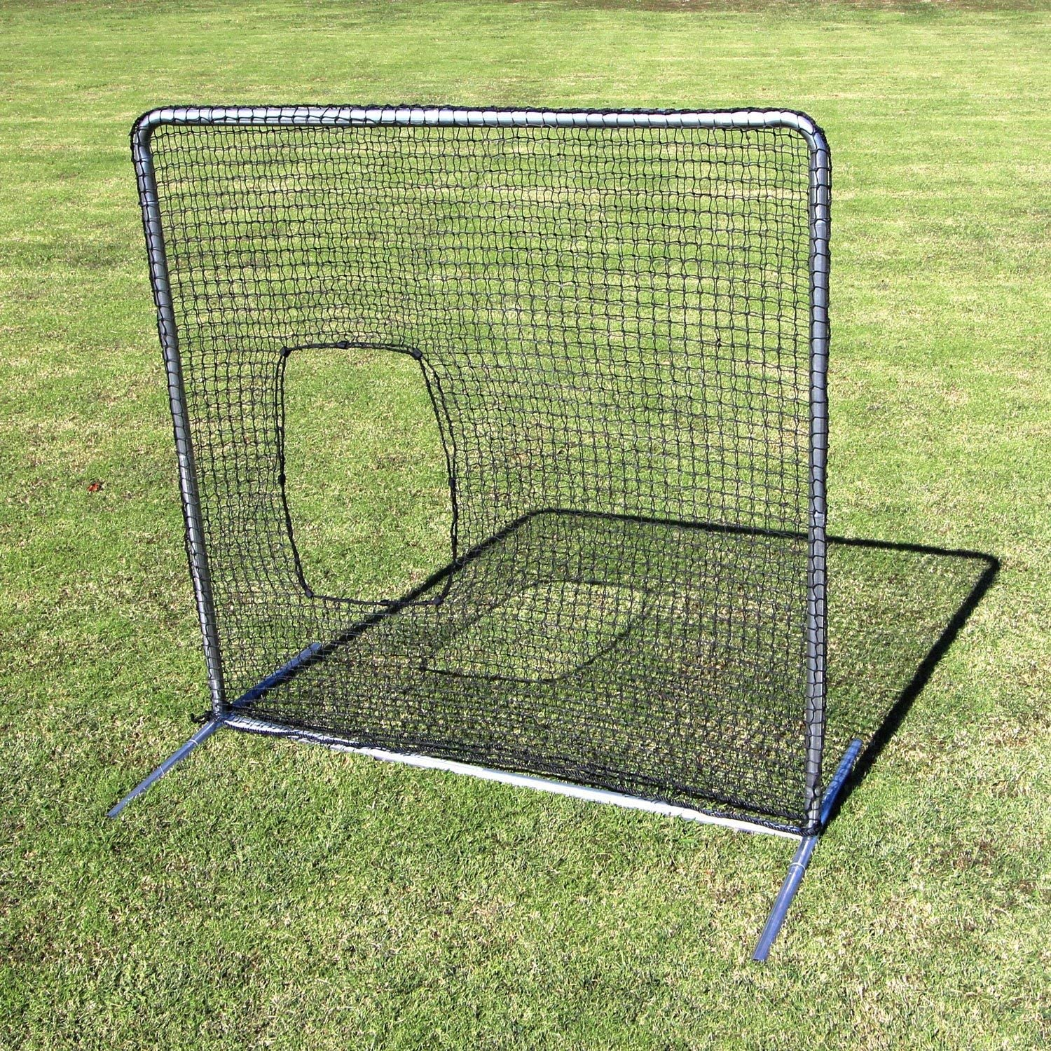 Cimarron Outdoor Sports Gaming Accessories 7x7 #42 Softball Net and Commercial Frame