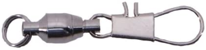 Spro Ball Bearing Swivel with Nickel Snap-Pack of 5 (Size 3)