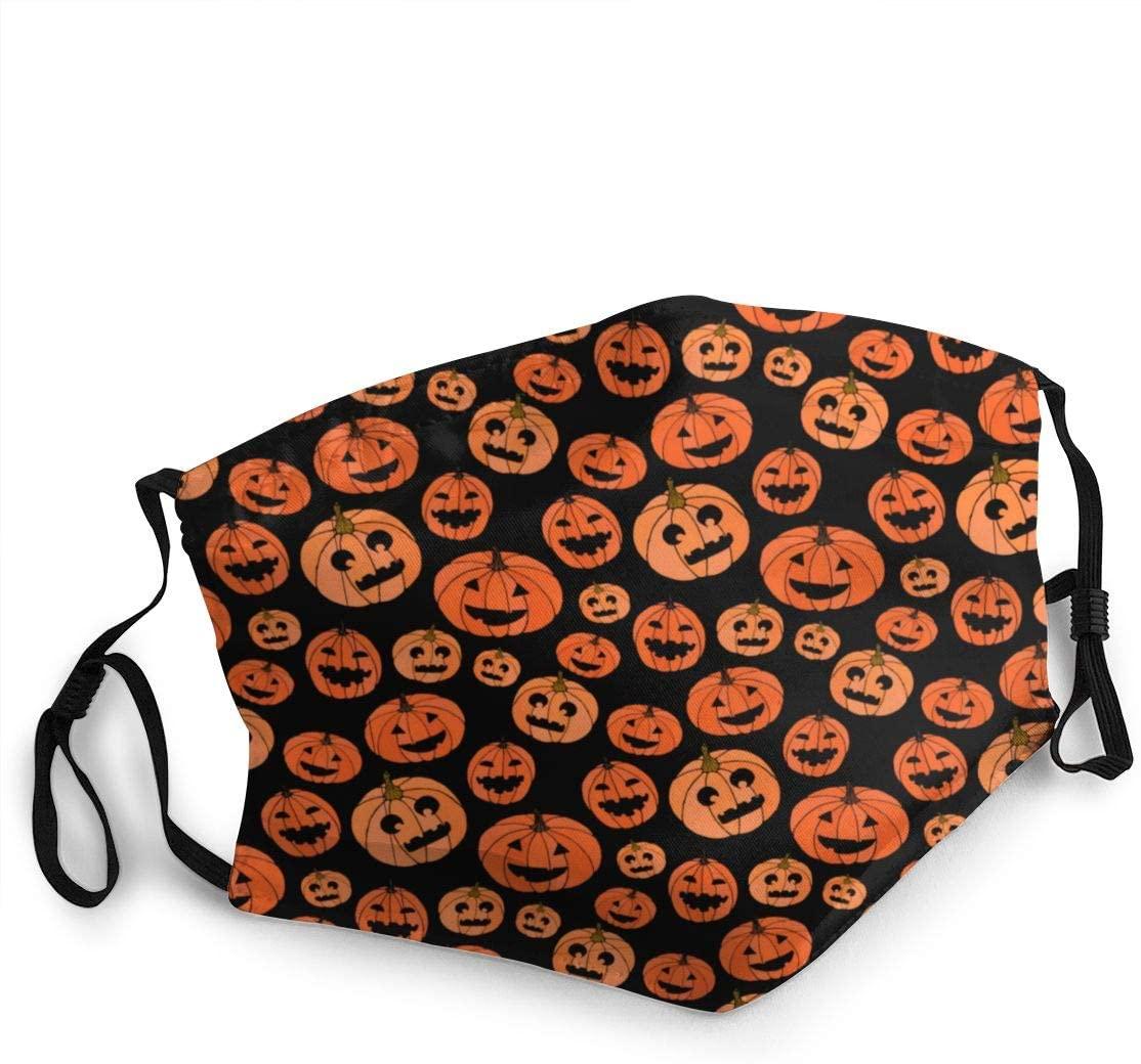 Wehoiweh Halloween Adult Dustproof Windproof Scarf Headscarf Face Towel Headband Cold Sunscreen