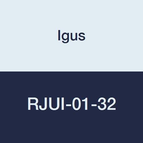Igus RJUI-01-32 DryLin R Standard Clearance Straight Linear Plain Bearing, 2
