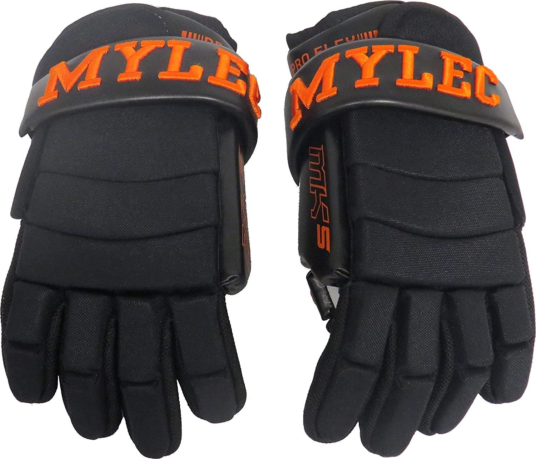 Mylec MK5 Player Gloves - Black/Orange 9