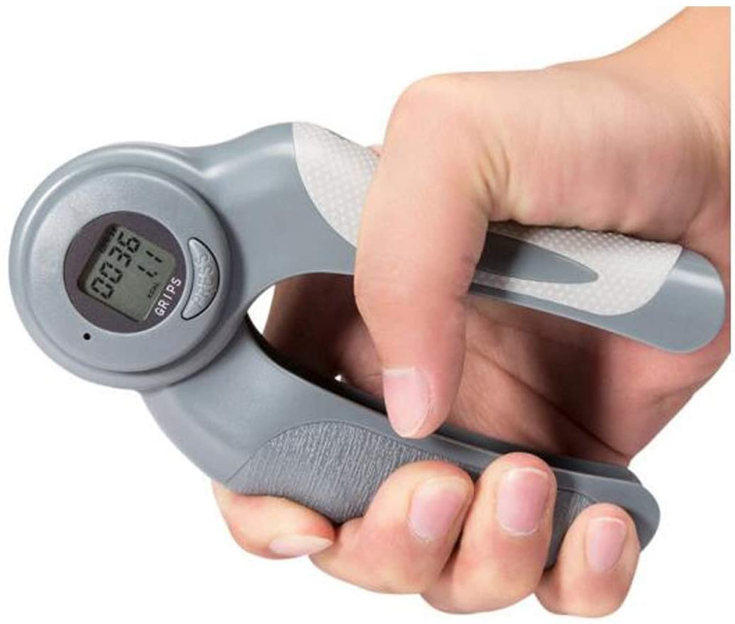 HXSD Grip Electronic Count Timing Adjustable Grip Training Mens Home Fitness Equipment