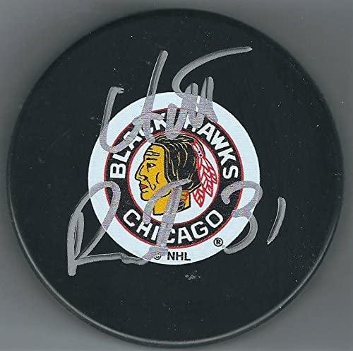 Signed Antti Raanta Puck - Autographed NHL Pucks