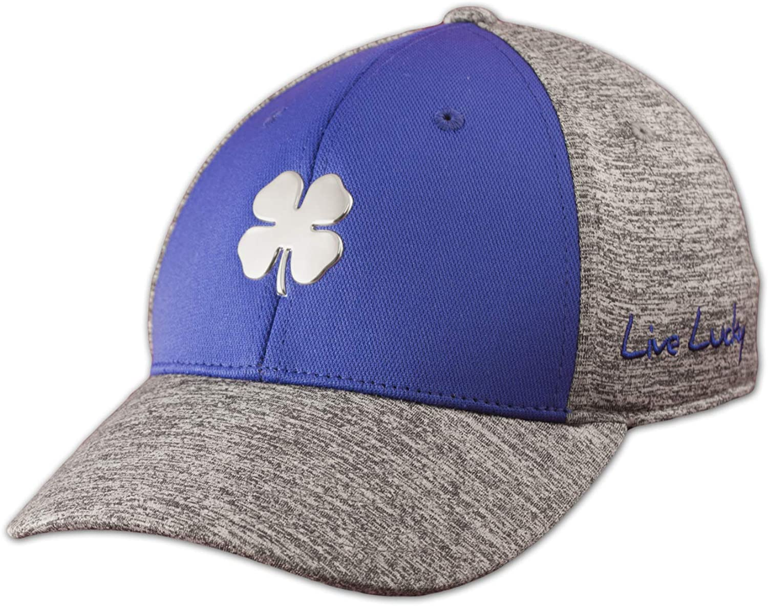 Black Clover New Live Lucky Heather Luck #3 Royal/Heather Fitted S/M Golf Hat