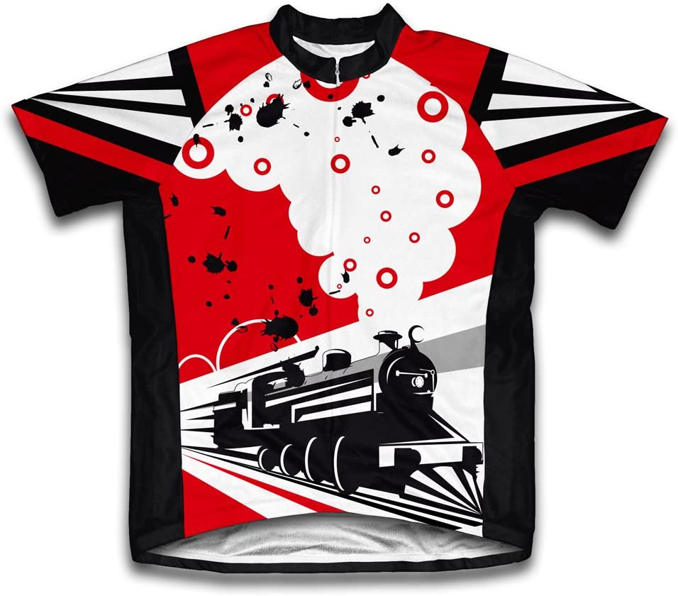 ScudoPro Speed Tracks Short Sleeve Cycling Jersey for Youth