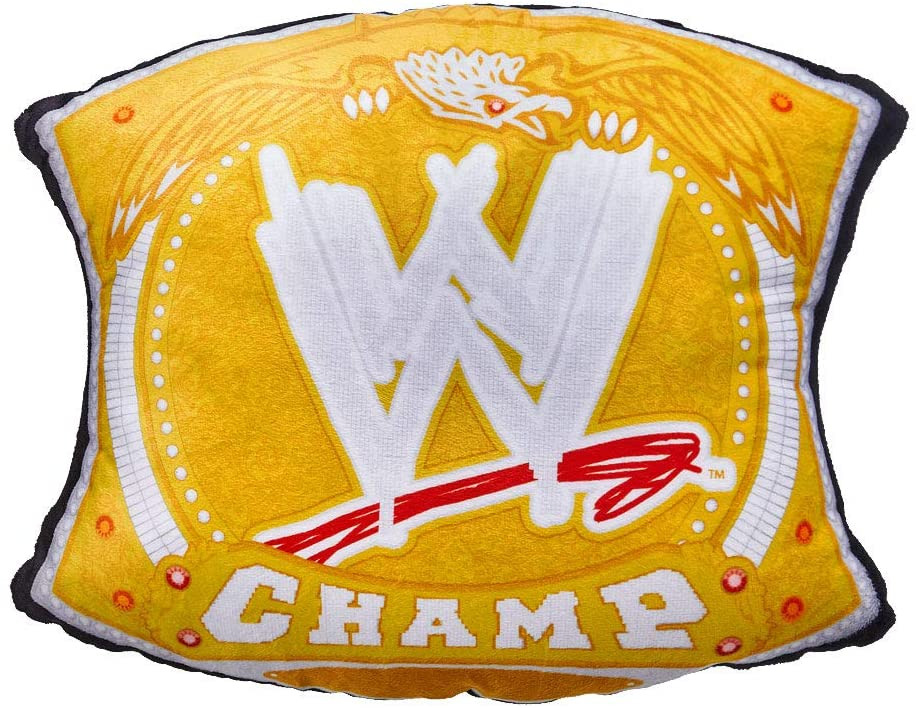 WWE Championship Spinner Title Throw Pillow