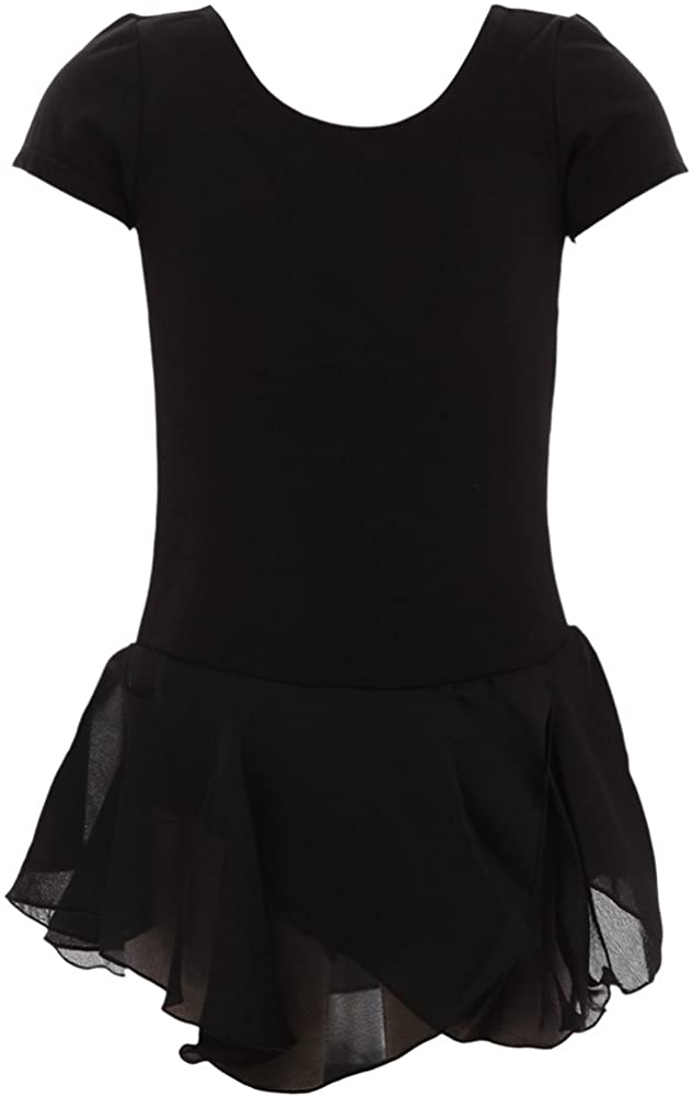 DanzNmotion by Danshuz Girl's Short Sleeve Dress