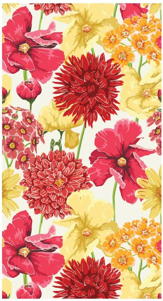 Creative Converting 16 Count Petal Meadow Premium Patterned Paper Guest Towels/Large Napkins, Multicolor