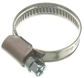 DIRECT HARDWARE 10 of Hose Clamp Jubilee Clip 18Mm - 32Mm Ss Stainless Steel