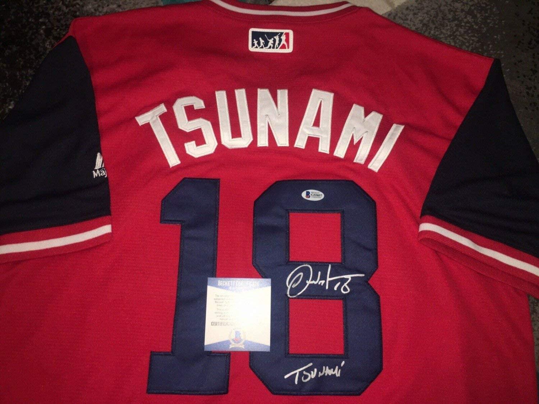 Carlos Martinez Autographed Signed St Louis Cardinals Jersey Nickname Tsunami Beckett