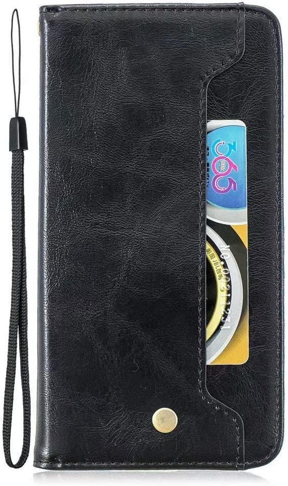 Luckyandery Nokia 4.2 Wallet case,Nokia 4.2 Case Card Holder Leather, Leather Wallet Case,Flip Case Cover with Stand Function & Credit Card Slots for Nokia 4.2