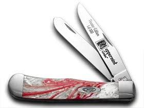 CASE XX Genuine Peppermint Corelon Trapper 1/500 Pocket Knife Knives