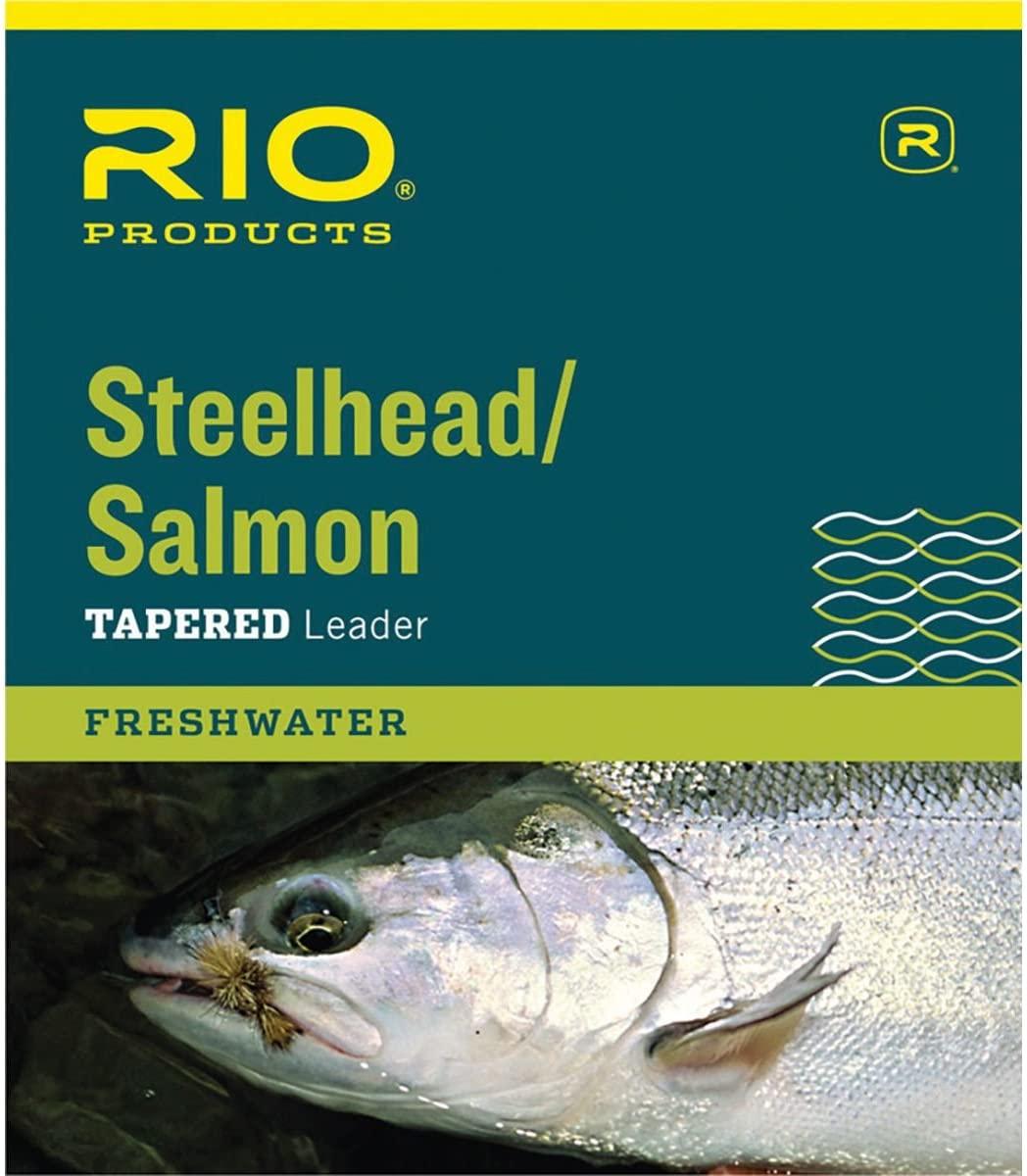 RIO Steelhead/Salmon Leader - 3-Pack One Color, 10lb/9ft