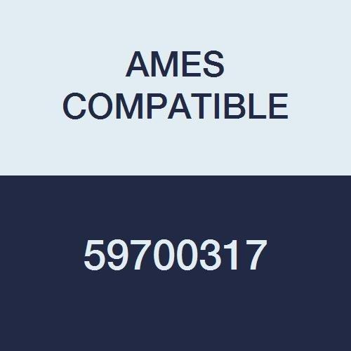 AMES COMPATIBLE 59700317 Color Code Label, Solid, 1-7/8