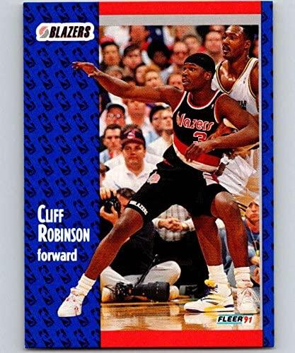 1991-92 Fleer #172 Cliff Robinson Blazers NBA Basketball