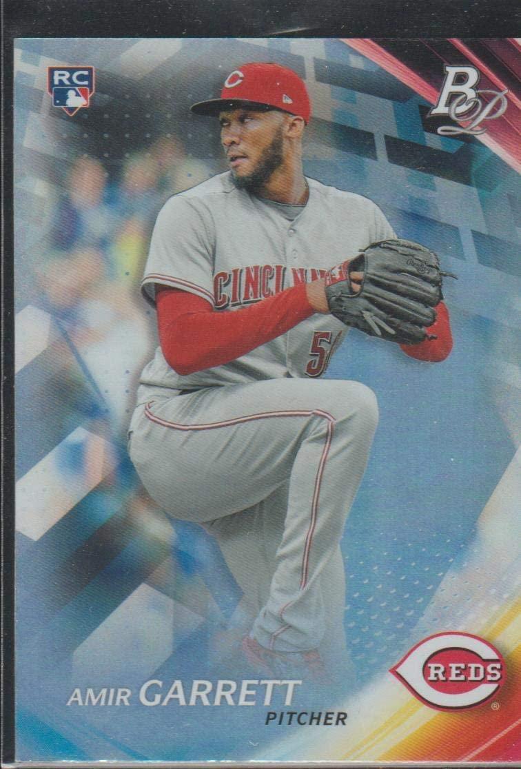 2017 Bowman Platinum Amir Garrett Reds Rookie Baseball Card #27