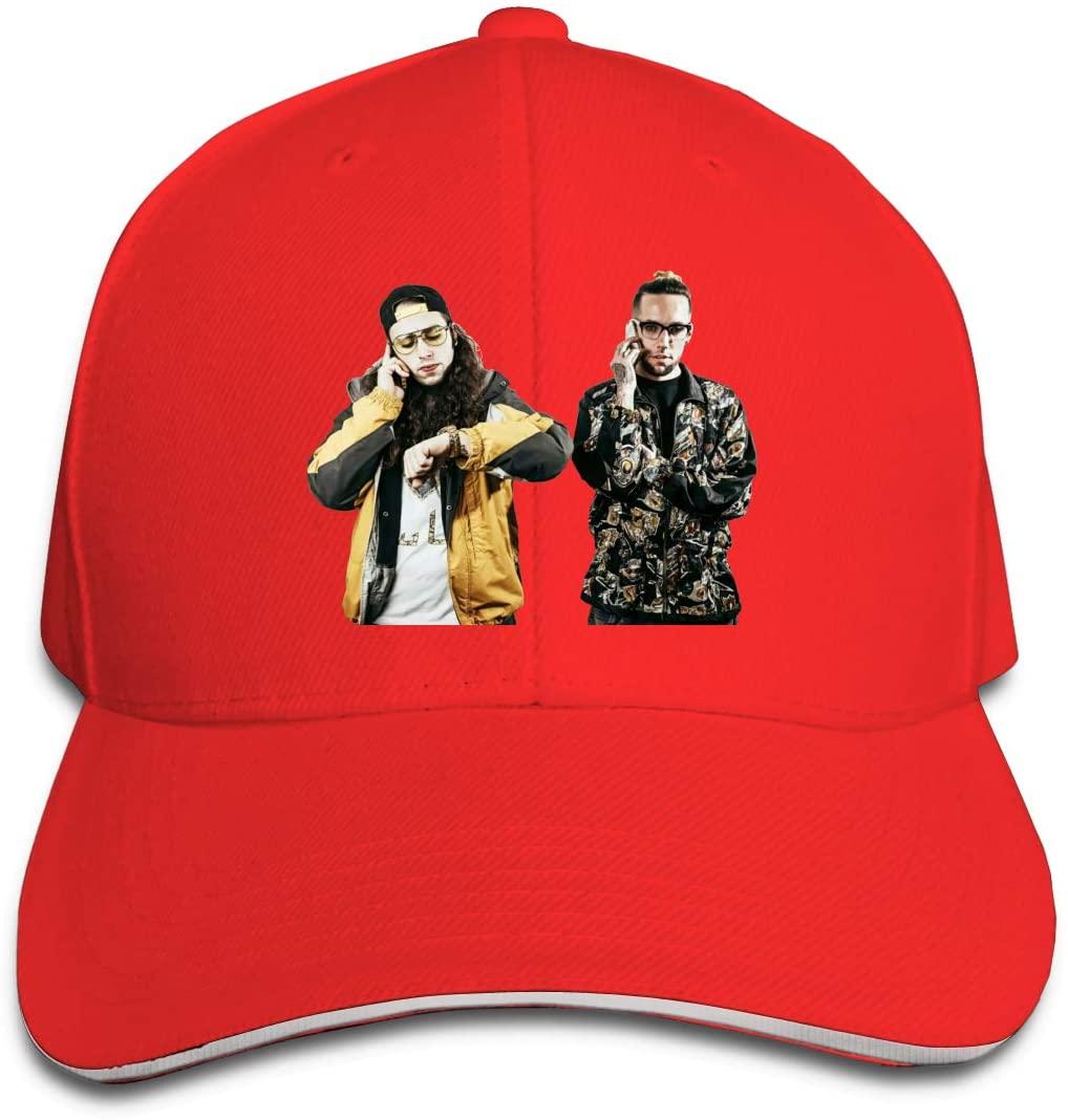 IASIFD Sui-ci-de-Boys Unisex Flex-fit Hat Hip Hop Baseball Cap Sun Hat Outdoor Cap Red