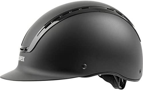 Uvex Suxxeed Active Riding Helmet-Black-3XS/XXS