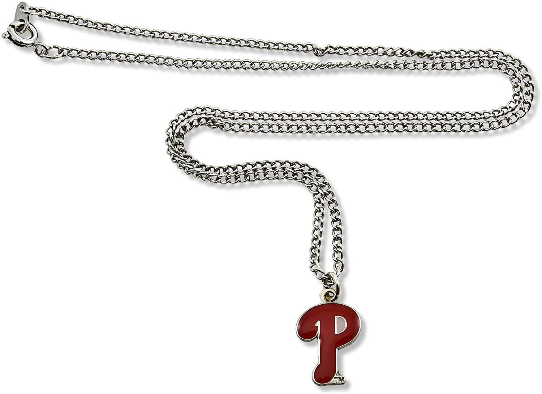 MLB Philadelphia Phillies Team Logo Necklace