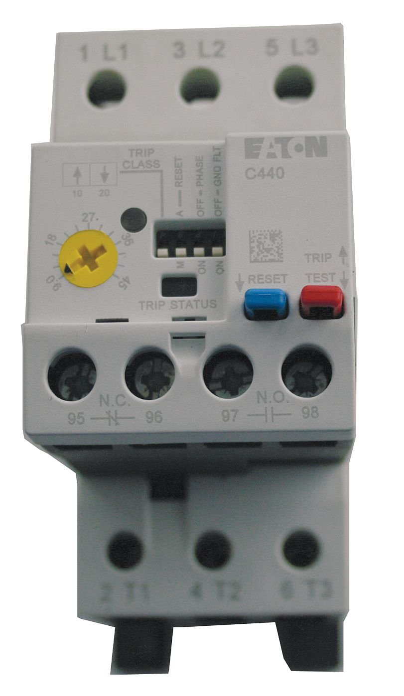Ovrload Relay, 9 to 45A, Class 10/20/30, 3P