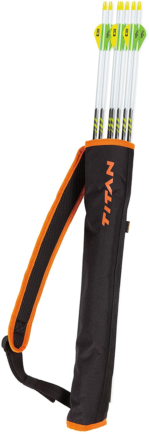 Allen Company Youth Archery Compact Lightweight Back Quiver Arrow Holder