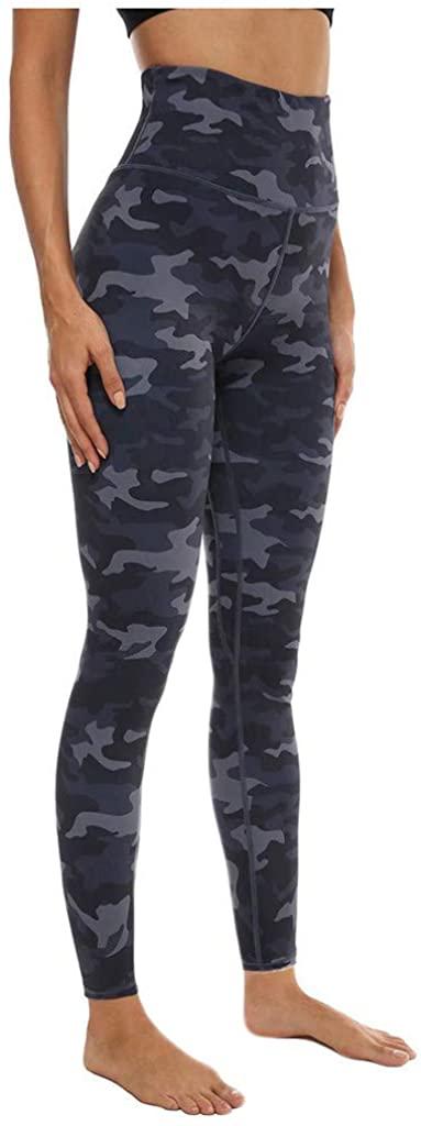 CCSDR Women Leggings Printing Hip Workout Fitness Sports Running Yoga Athletic Pants