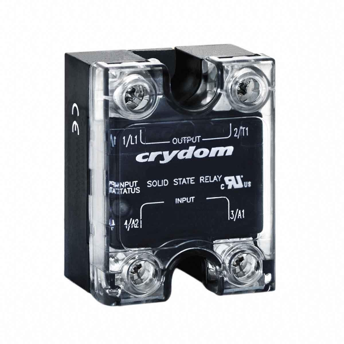 CWU4810, Solid State Relay 11mA/9mA 48V/280V AC/DC-in 25A 280V AC-Out 4-Pin