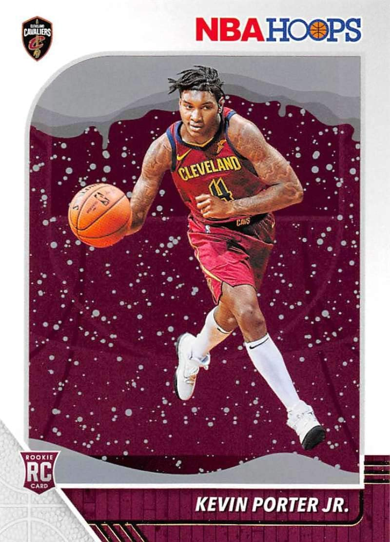 2019-20 Panini Hoops Winter #225 Kevin Porter Jr. Cleveland Cavaliers RC Rookie NBA Basketball Trading Card