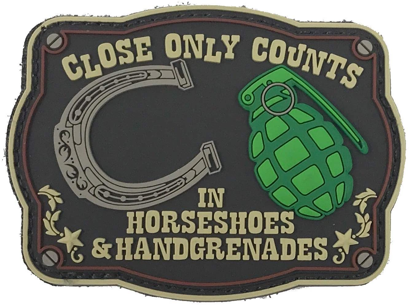 Patriot Patch Co - Horseshoes & Hand Grenades - Patch