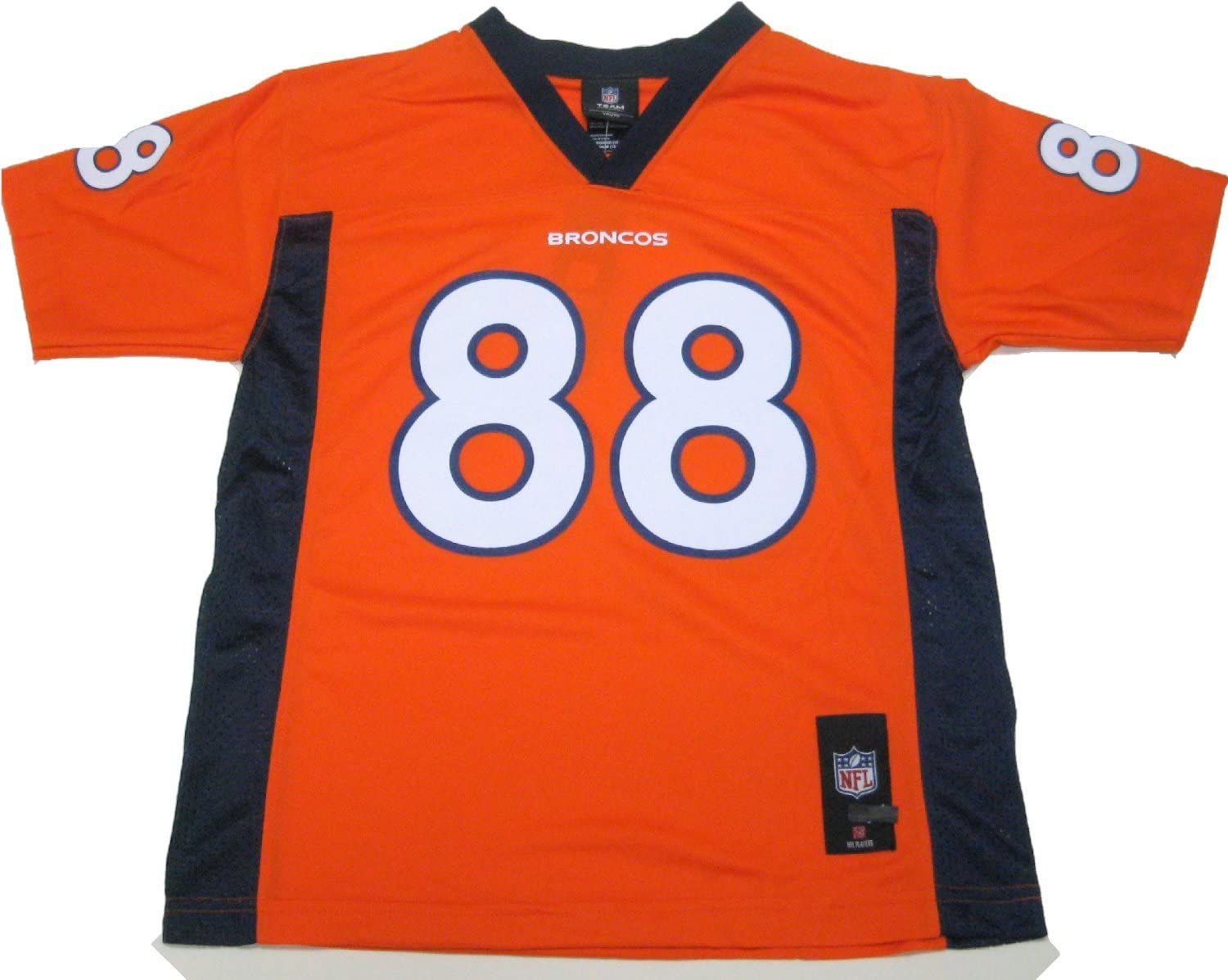 Outerstuff Demaryius Thomas Denver Broncos Youth Orange Jersey